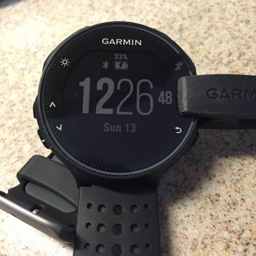 Desconexión usb Garmin Forerunner 235
